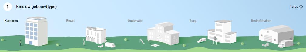Kies uw gebouw(type)